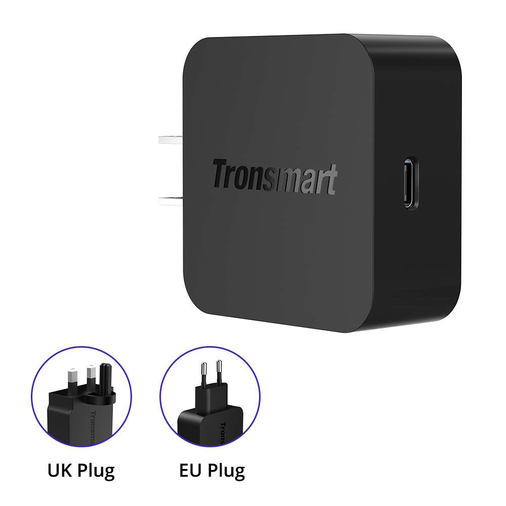 Tronsmart WCP01 USB-C PD 3.0 / Quick Charge 4.0 Wall Charger